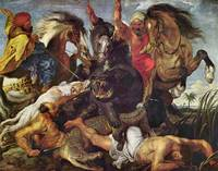 Hunting by Peter Paul Rubens