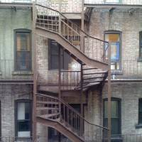 NYC fire escape Art Prints & Posters by Liz Harrington
