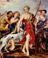 Diana with Nymphs by Peter Paul Rubens