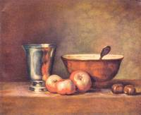 The Silver Cup by Jean Chardin