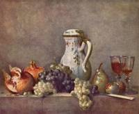 Still Life with Porcelain Jug by Jean Chardin