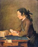House of Cards by Jean Chardin