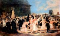 Geissler Procession by Francisco Goya