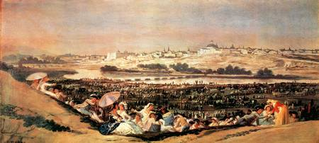 Folk Festival at the San Isidro Day by Goya