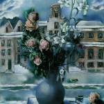 Willink Flower Piece Mystery of a Town by Leo KL