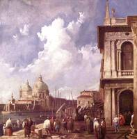 Piazza in Venice by Canaletto
