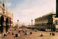 La Piazza by Canaletto