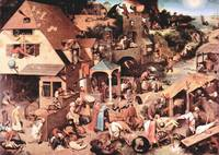 The Dutch Proverbs by Pieter Bruegel