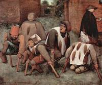 Cripples by Pieter Bruegel