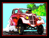 33 WILLYS BURNOUT