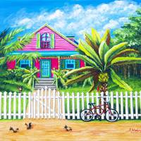 """The Caribbean Life"" by kathywoolingtonart"