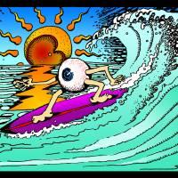 Eye Surf by John Tribolet