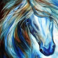 BLUE MANE EVENT 2016 by Marcia Baldwin
