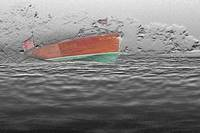 Wooden Boat at Speed + Effects by Daniel Teetor