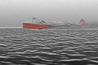 Triple-Cockpit Gar Wood Boat+Effects by Daniel Teetor