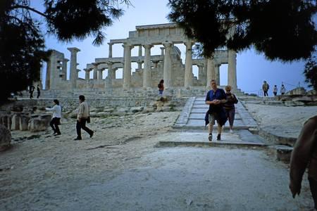 Temple of Aphaia, Aegina, Spring Evening 2003 12