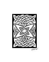 Celtic Knotwork Quasar