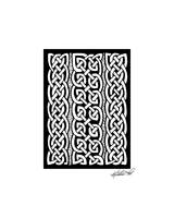Celtic Knotwork Stripes