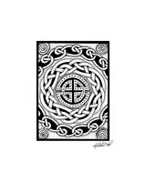 Celtic Knotwork Rondelle