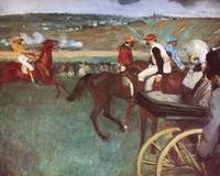 Edgar Degas Amateur Jockeys On The Course