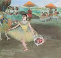 Edgar Degas Dancer Bowing With a Bouquet