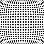 """Bulge Dots"" by ModernArtPrints"