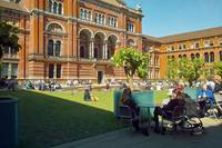 Springtime at the V&A