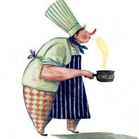 Chef Art Prints & Posters by Nikko Barber