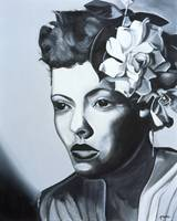 Billie Holiday by Kaaria Mucherera