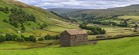 Yorkshire Dales Swaledale Panorama