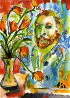 Homage to VanGogh by Ginette Callaway