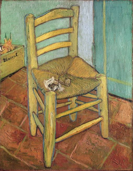 Vincent's Chair by Vincent van Gogh