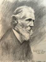 John Muir Pencil Drawing