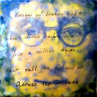 John Lennon Encaustic No 2 Across The Universe