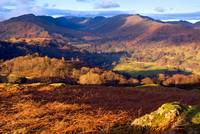 The Lake District - Fairfield from Loughrigg Fell
