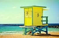 Lifeguard Tower at the Jetty