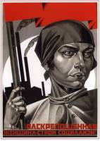Emancipated women, help build socialism!