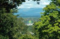 Autzen from Skinner's Butte