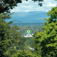 Autzen from Skinner's Butte by John Tribolet