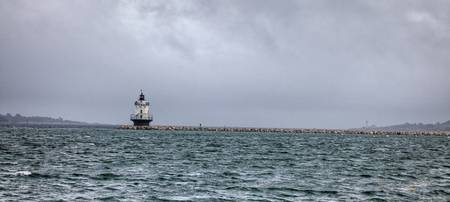 Approaching Spring Point Ledge Light