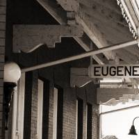 Eugene Train Station by John Tribolet