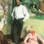 Edgar Degas Portrait of Henri Michel Levy by Leo KL