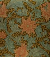 'Single Stem' wallpaper design by William Morris