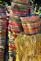Stacked Bushel Baskets