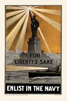 For Liberty's Sake Enlist In The Navy