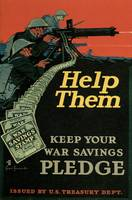 Help Them Keep Your War Savings Pledge