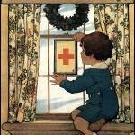 Jessie Willcox Smith Red Cross Service Flag by Leo KL