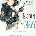 Howard Chandler Christy Join The Navy by Leo KL