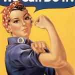 Howard Miller We Can Do It Rosie the Riveter by Leo KL