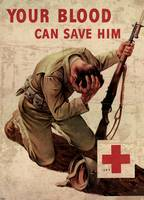 Red Cross Your Blood Can Save Him 1